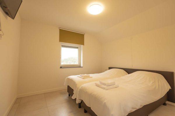 Slaapkamer vakantieappartement